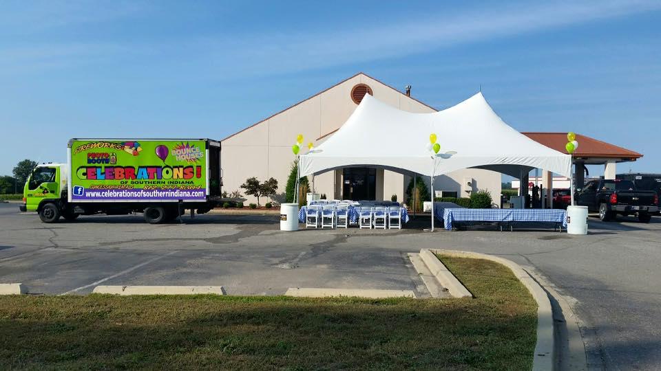 20'x30' Tent Rental Hoosier Hills Credit Union