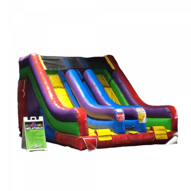 12' Dual Lane Slide (DRY ONLY)