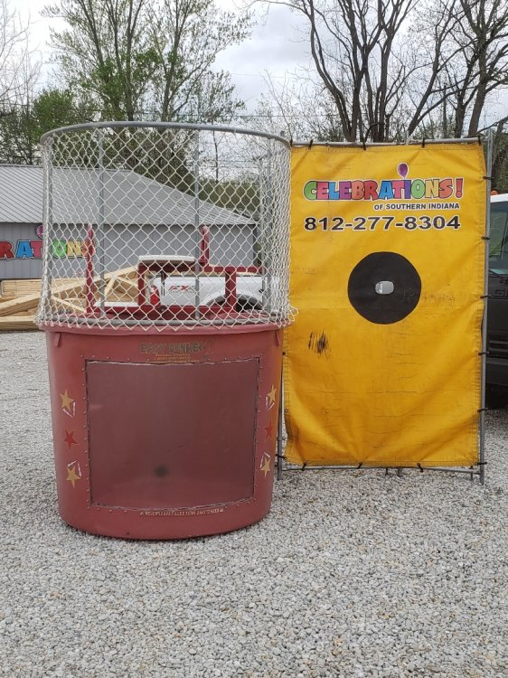 Red Dunk Tank
