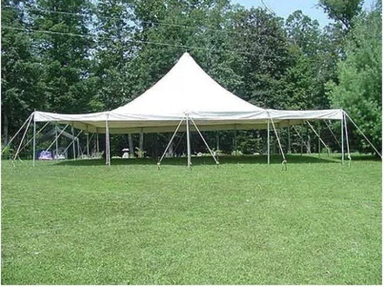 40'x40' Pole Tent (GRASS SETUP ONLY!)