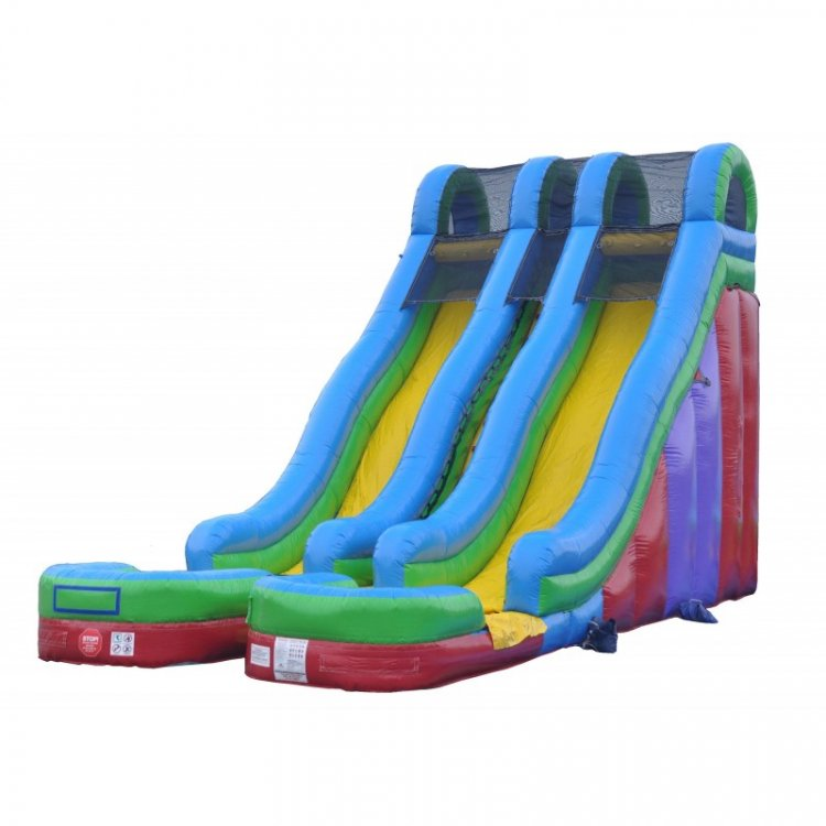 24' Double Bay Slide