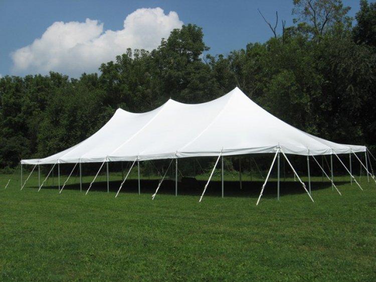 40'x80' Pole Tent (GRASS SETUP ONLY!!)