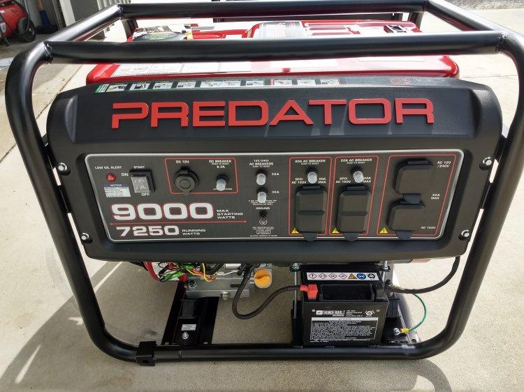 7250 Watt Generator