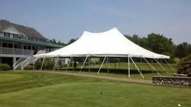 40'x60' Pole Tent (GRASS SETUP ONLY!)