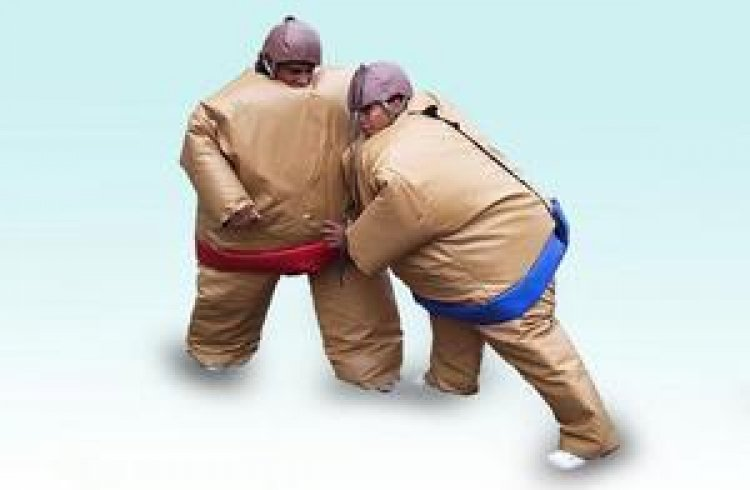 Sumo Suits (2) with Mat