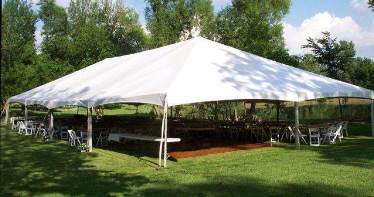 40'x40' Frame Tent
