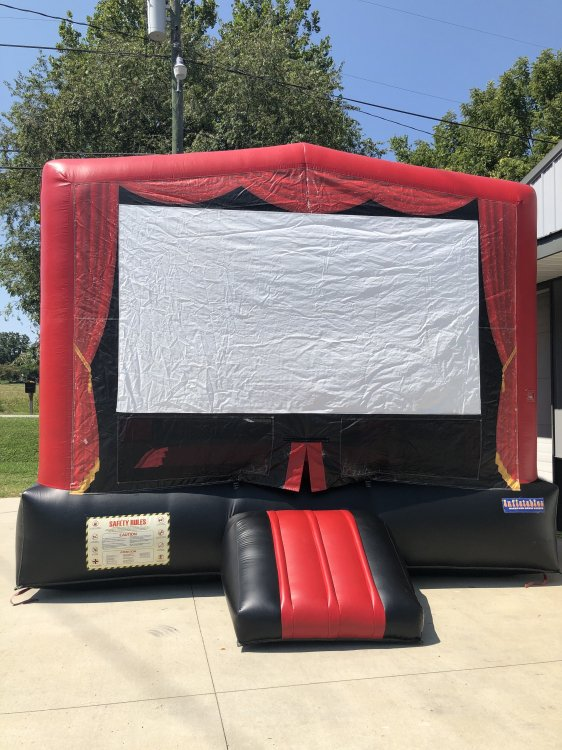 Movie Screen Bounce House