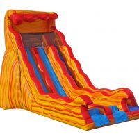20 Foot Flammin Dual Slide
